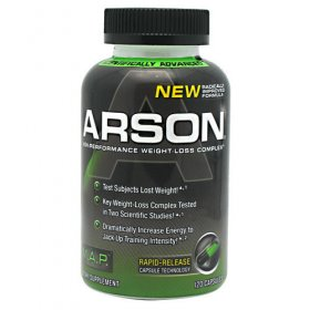Arson Fat Incinerator 120 ct by Muscle Asylum Project