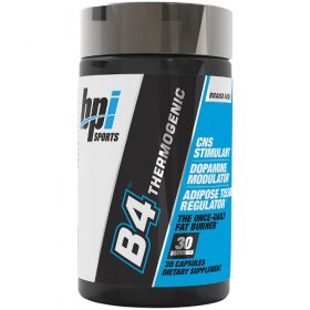 B4 Fat Burner Pre-Training BPI With DENDROMAX Weight Loss