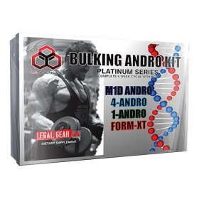 Bulk Andro Kit Platinum Series LG Sciences Prohormone Cycle