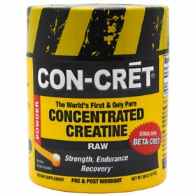 Concentrated Creatine Con-Cret More Potent Standard Creatine