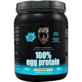 100% Egg Protein Vanilla Flavor 12oz Healthy N Fit