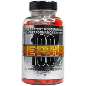 EPH 100 Best Ephedra Diet Pill with 100mg Ephedra Extract