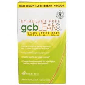 gcb Lean 800 Stimulant Free 120 Count BioGenetic Labs