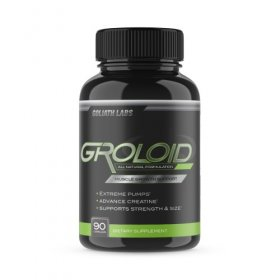 Groloid Goliath Labs PreWorkout Creatine Nitric Oxide Supplement