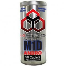 M1D Andro LG Sciences Best Prohormones Free IGF-1