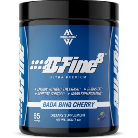 D-Fine 8 Sugar Free Musclewerks Fat Burning Energy No Crashes