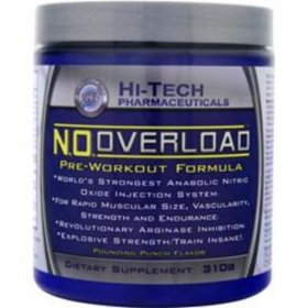 N.O. OVERLOAD HI-TECH PHARMACEUTICALS MUSCLE DEVEPOLMENT 39CT