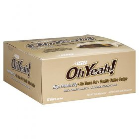 ISS OhYeah!Bar Naturally flavored Vanilla Fudge 12CT