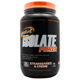 ISS OhYeah!Isolate Power High-Quality strawberry flavour 31CT
