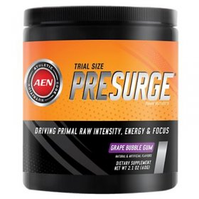 PreSurge Athletic Edge Nutrition Grape Bubblegum Preworkout