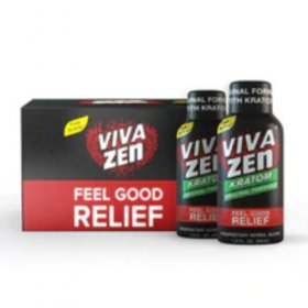 VIVAZEN 1.9oz Shot with Kratom Limited Supply In Stock