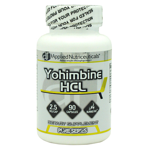 Yohimbine HCL Applied Nutriceuticals improved metabolism 90ct