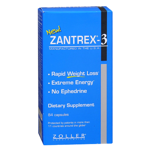 Zantrex 3 Weight Loss Diet Pills